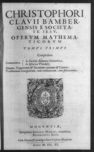 First Volume - Volume Title Page and verso - Page 1