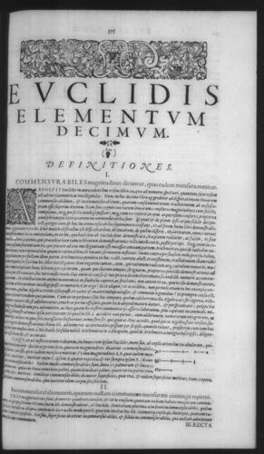 First Volume - Commentary on Euclid - X - Page 395