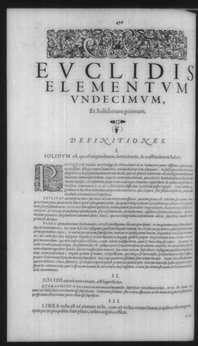 First Volume - Commentary on Euclid - XI - Page 476
