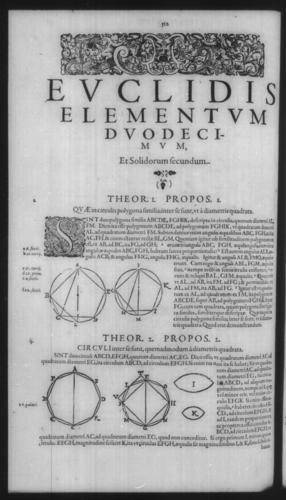 First Volume - Commentary on Euclid - XII - Page 512
