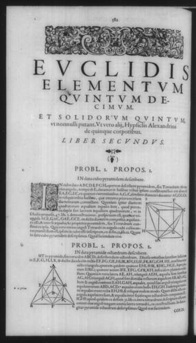 First Volume - Commentary on Euclid - XV - Page 582