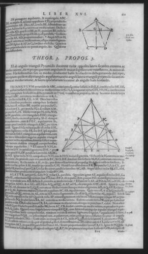 First Volume - Commentary on Euclid - XVI - Page 611