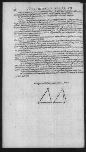 First Volume - Commentary on Euclid - Recapitulation - Page 638
