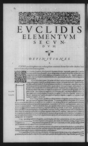 First Volume - Commentary on Euclid - II - Page 82