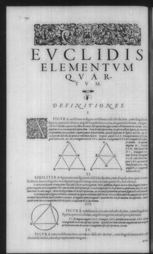 First Volume - Commentary on Euclid - IV - Page 150