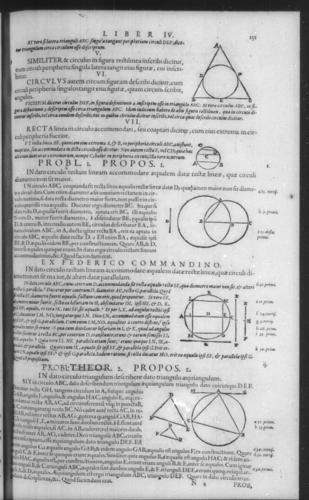 First Volume - Commentary on Euclid - IV - Page 151