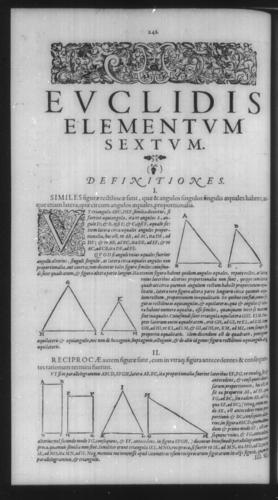 First Volume - Commentary on Euclid - VI - Page 242