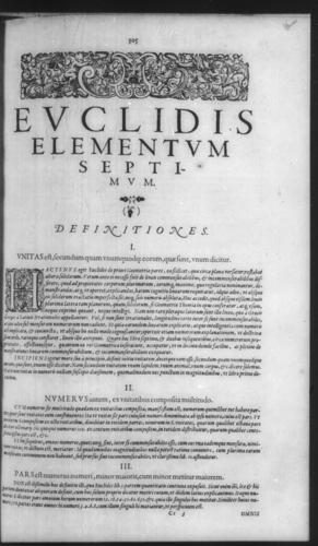 First Volume - Commentary on Euclid - VII - Page 305