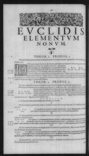 First Volume - Commentary on Euclid - IX - Page 360