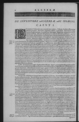 Second Volume - Algebra - Contents - Page 4