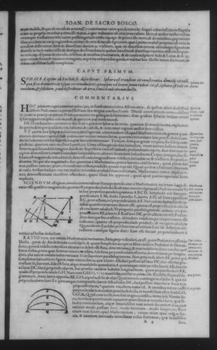 Third Volume - Commentary on John of Holywood's Spheres - I - Page 7