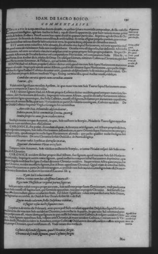 Third Volume - Commentary on John of Holywood's Spheres - III - Page 191