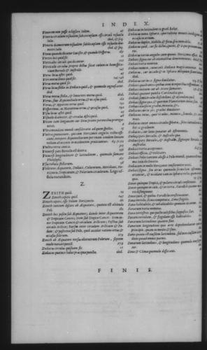 Third Volume - Commentary on John of Holywood's Spheres - Index - Page 338