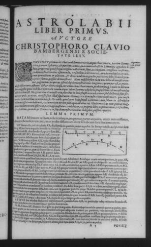 Third Volume - Astrolabe - I - Page 7