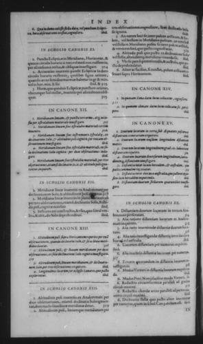 Third Volume - Astrolabe - Index Bk. III - Page 364