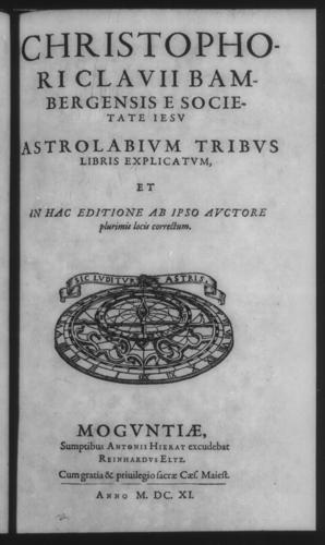 Third Volume - Astrolabe