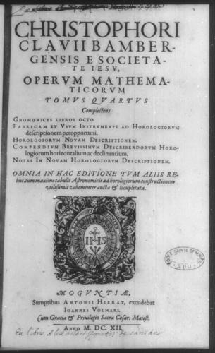Fourth Volume - Volume Title Page and verso - Page 1