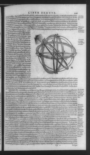 Fourth Volume - Gnomonics - VI - Page 449