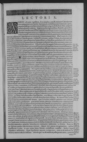Fifth Volume - Roman Calendar of Gregory XIII - Readings - Page vii
