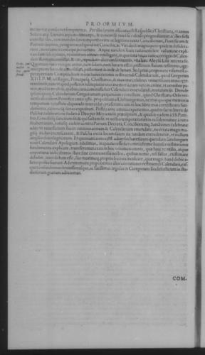 Fifth Volume - Roman Calendar of Gregory XIII - Preamble - Page 2