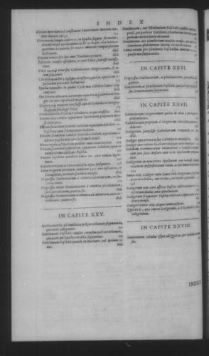 Fifth Volume - Roman Calendar of Gregory XIII - Index of chapter contents - Page 608