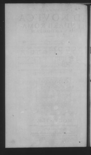 Fifth Volume - Apology Appendices - Title page and verso - Page 2