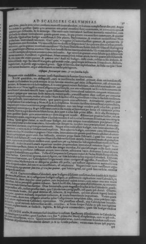 Fifth Volume - Apology Appendices - Response to Scaligeri - Page 57